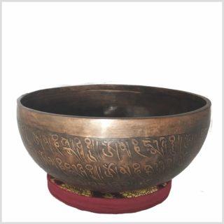 Sakralchakra Klangschale Avalokiteshvara Seitenansicht