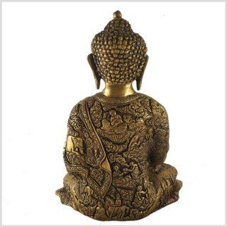 Erdender Buddha Leben von Buddha 6kg Rückansicht