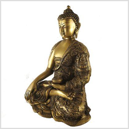 Erdender Buddha Leben von Buddha 6kg Seitenansicht