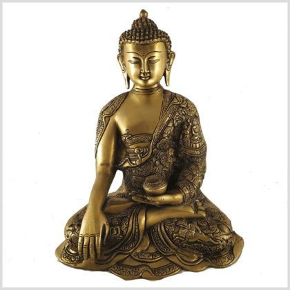 Erdender Buddha Leben von Buddha 6kg Vorderansicht