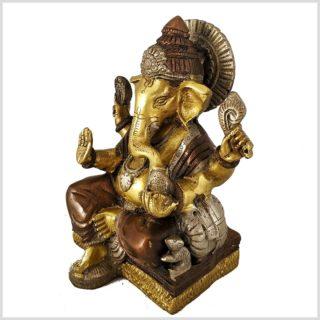 Ganesha Basis Tricoloure Eckig Seite Rechts