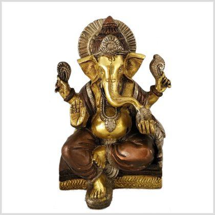 Ganesha Basis Tricoloure Eckig Vorne