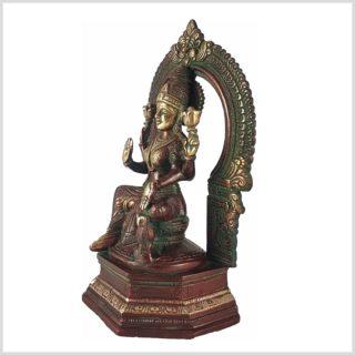 Lakshmi im Tempel Seitenansicht Rechts