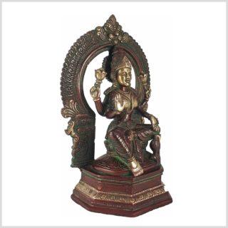 Lakshmi im Tempel Seitenansicht