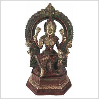 Lakshmi im Tempel Vorderansicht