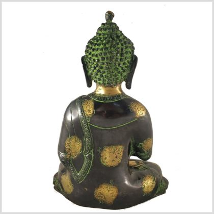 Lehrender Buddha Asthamangala 2,8kg Rückansicht