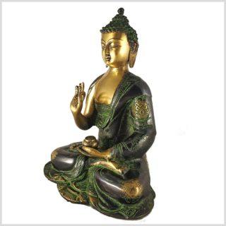 Lehrender Buddha Asthamangala 2,8kg Seitenansicht Links