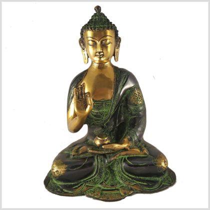 Lehrender Buddha Asthamangala 2,8kg Vorderansicht