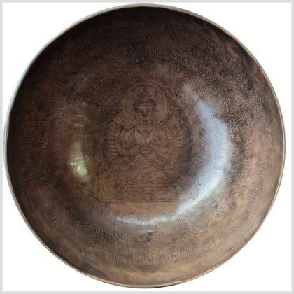 Sakralchakra Klangschale Avalokiteshvara Fernansicht