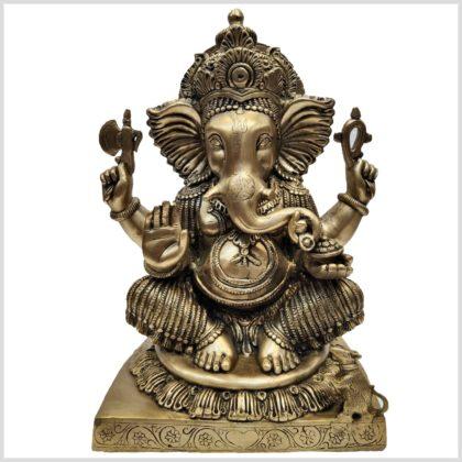 Sitzender Ganesha 15kg Vorderansicht