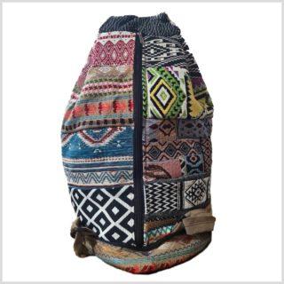 Hippie Rucksack Patchwork Rücken
