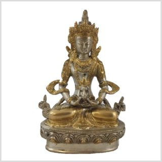 Amithaba 1,9kg 22cm versilbert Vorne