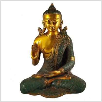 Abhaya Mudra Buddha Amoghasiddhi Vorderansicht