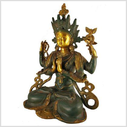 Avalokiteshvara 29cm Seitenansicht