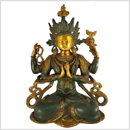 Avalokiteshvara 29cm Vorderansicht
