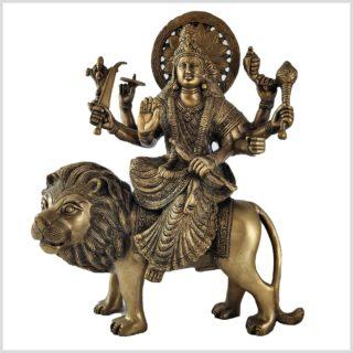 Durga 33,5cm Messing Vorne