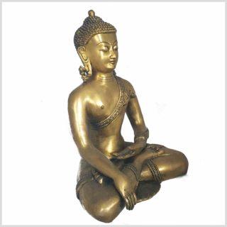 Bhumiparsa Mudra Buddha 6kg Seitenansicht