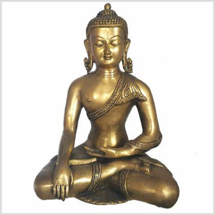 Bhumisparsa Mudra Buddha 6kg Vorderansicht