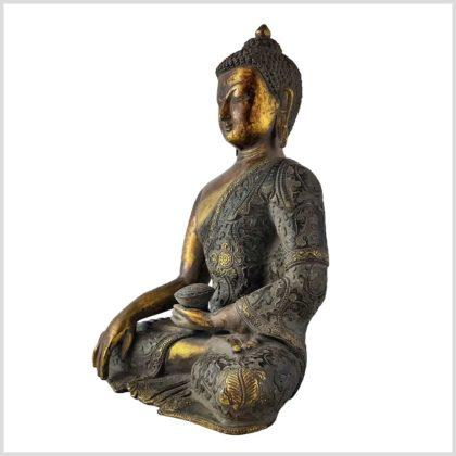 Bhumiparsa Buddha Nepal 4,3kg Seite links
