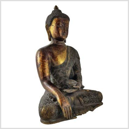 Bhumiparsa Buddha Nepal 4,3kg Seite rechts