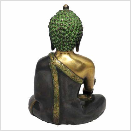 Medizinbuddha grüngold Rücken