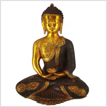 Erleuchteter Buddha Asthamangala Vorderansicht