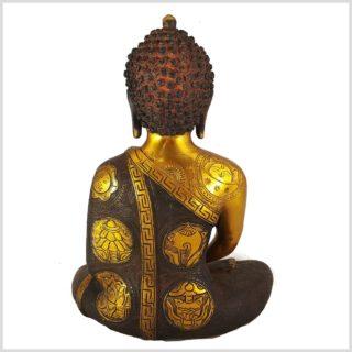 Erleuchteter Buddha Asthamangala Rücken