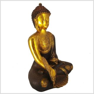 Medizinbuddha Asthamangala Seitenansicht