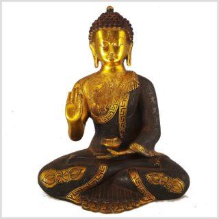 Lehrender Buddha Asthamangala 5,7kg Vorderansicht