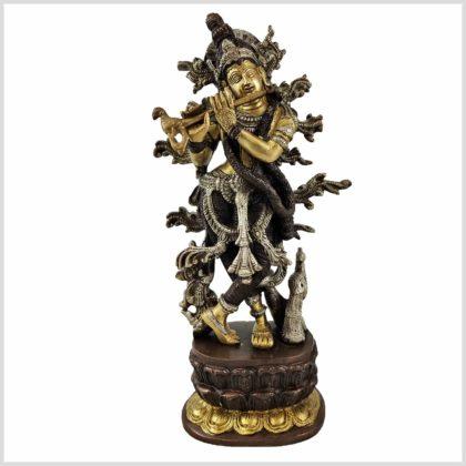Krishna mit Flöte Vorderansicht