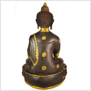 Lehrender Buddha 8,1kg Rücken