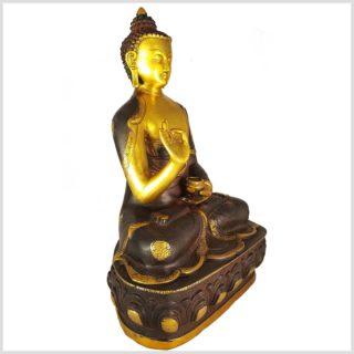 Lehrender Buddha 8,1kg Seitenansicht