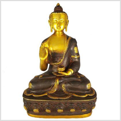 Lehrender Buddha 8,1kg Vorderansicht