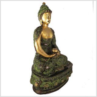 Meditationsbuddha 4kg 33cm Seitenansicht