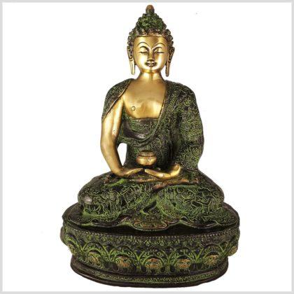 Meditationsbuddha 4kg 33cm Vorderansicht
