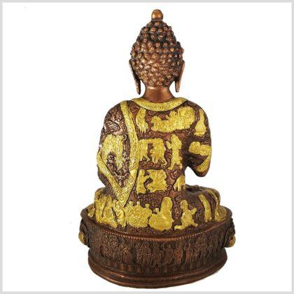 Vitarka Mudra Lehrender Buddha 33cm 4kg Rücken