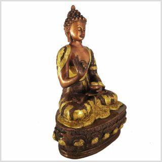 Vitarka Mudra Lehrender Buddha 33cm 4kg Seitenansicht