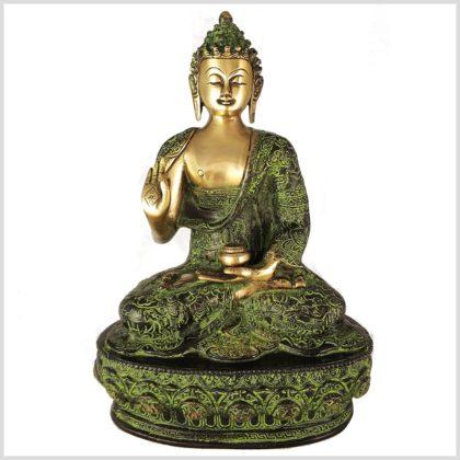 Lehrender Buddha 33cm Lifebuddha Vorderansicht