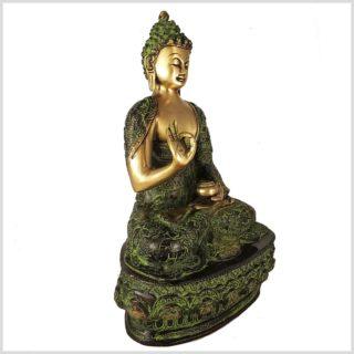 Lehrender Buddha 33cm Lifebuddha Seitenansicht
