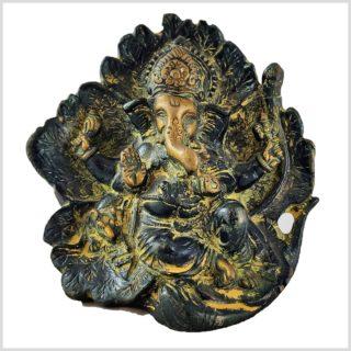 Lotus Ganesha gelbgrün Vorderseite