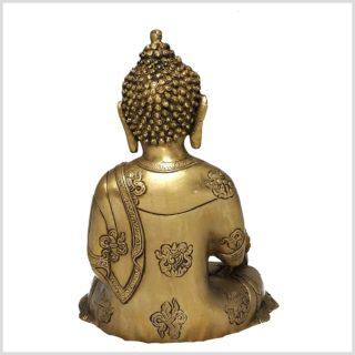 Medizinbuddha Asthamangala 2,8kg Rücken
