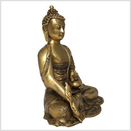 Medizinbuddha Asthamangala 2,8kg Seitenansicht