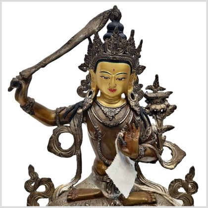 Manjushri Nepalarbeit Gesicht