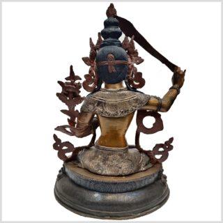 Manjushri Nepalarbeit Rücken