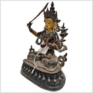 Manjushri Nepalarbeit Seitenansicht
