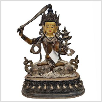 Manjushri Nepalarbeit Vorderansicht