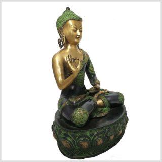 Lehrender Buddha 7,8kg 41cm Seitenansicht