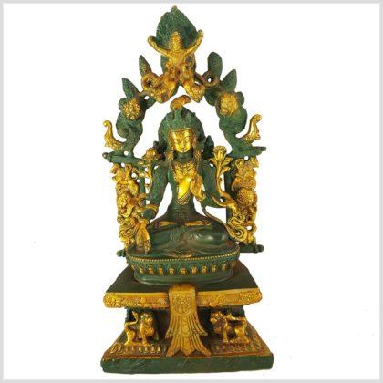 Weiße Tara im Tempel Vollansicht