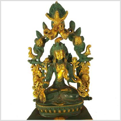 Weiße Tara im Tempel Nahansicht