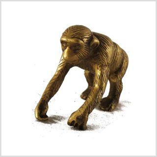 Affe aus Messing Vorderansicht
